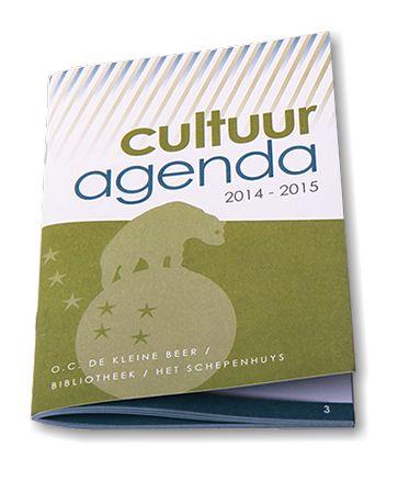 Cultuuragenda De Kleine Beer // Grafisch ontwerp - Redactioneel ontwerp en lay-out