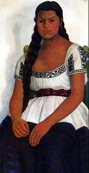 Delfina Flores Diego Rivera - 1937 bonfrasson-indigo dreams