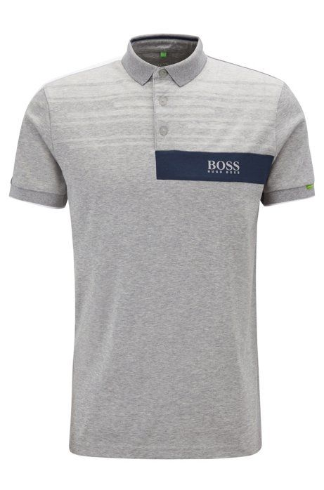 8b0b1ed2b Polo shirt in a cotton blend with moisture management in 2018 | L Y L E -  Flannels | Shirts, Boss, Polo Shirt