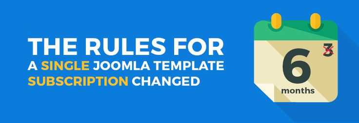 Good news regarding a paid subscription for Joomla - the rules are changed - learn more. #Joomla #templates #template #subscription
