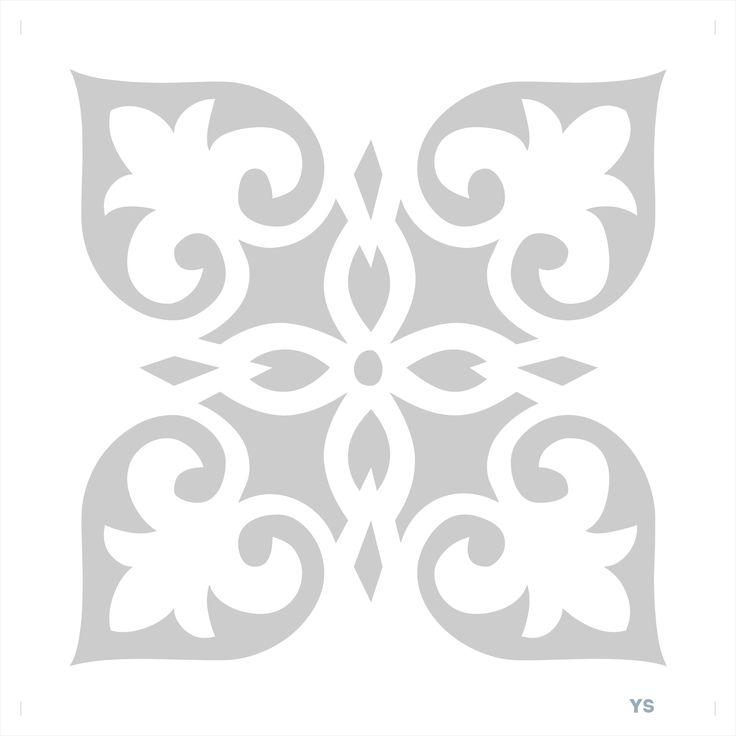 349 best Plantillas - Estarcido images on Pinterest | Arabesque ...