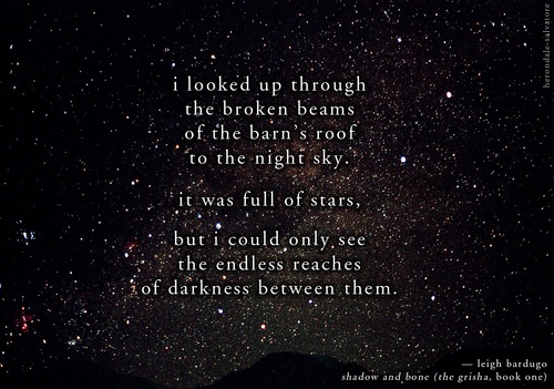 book quotes i looked up through the broken beams of the