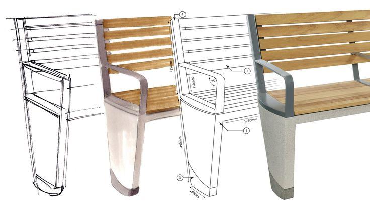 Coda street furniture design development | Lifschutz Davidson Sandilands