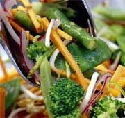 Salad - Asian with snow peas and cashews