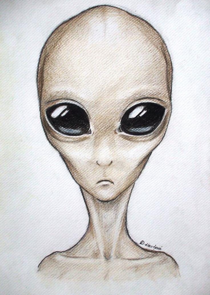 Gray Alien by Dewilish on DeviantArt