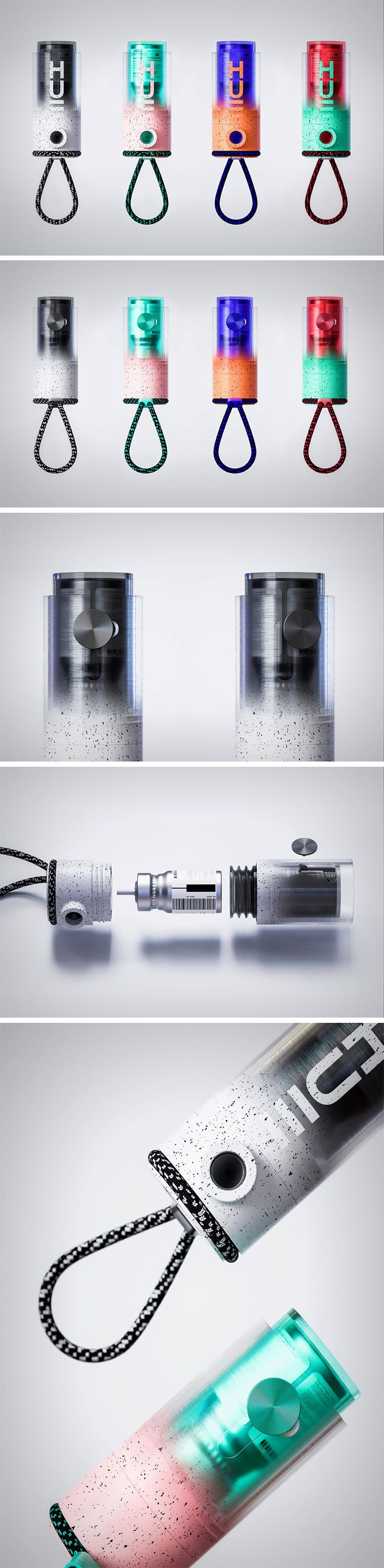 The Hue Inhaler is a step in a direction, bringing incredible CMF detailing to the otherwise mundane asthma inhaler. The Hue is completely 3D printed and comes with a dazzling set of color combinations that are bound to break the monotony of medical product design. With roughly 300 million people in this world suffering from asthma and almost 250,000 deaths per year, the Hue Inhaler's crusade to destroy stigma around inhalers may just save more than a fair share of lives.
