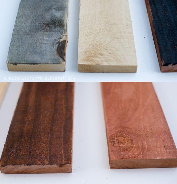DIY - Aged Wood. Full Step-by-Step Tutorial: Craftahol Anonymous, Steel Wool, Wood Crafts With Paintings, Old Wood, Age Wood, Mason Jars, Step By Step Tutorials, Wood Tutorials, Diy Wood Paintings