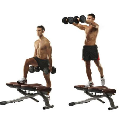 6 lowerbody strength moves  workout warm up build