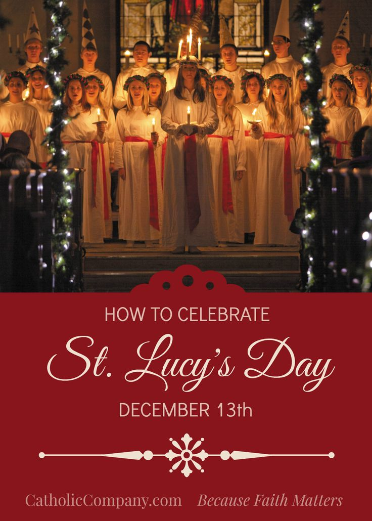 St. Lucy's Feast Day: Celebrate with Lights and Sweets!