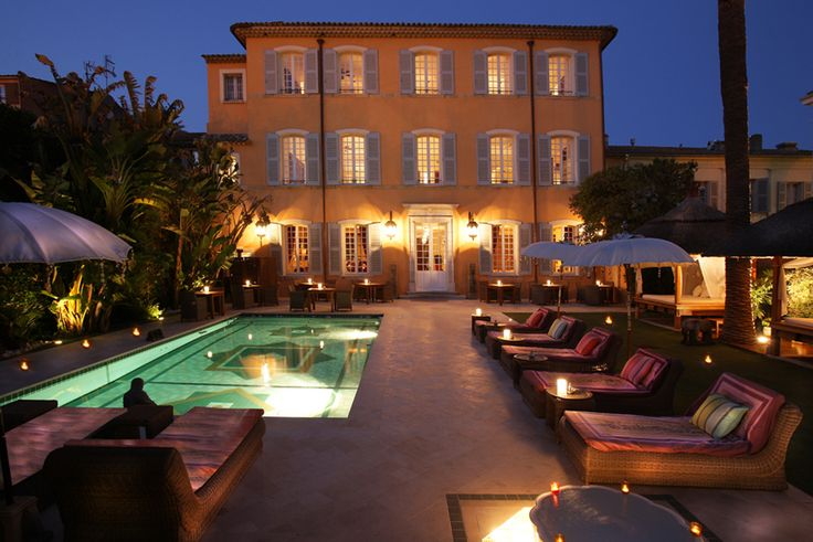 Pan Dei Palace 5* luxury hotel in St Tropez, France is a beautiful, boutique residence.