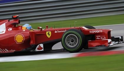 Ferrari's Fernando Alonso won the Formula One Malaysian Grand Prix