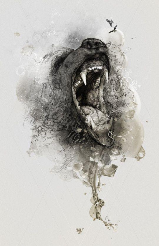Illustrations and Ads by Krzysztof Domaradzki of StudioKXX