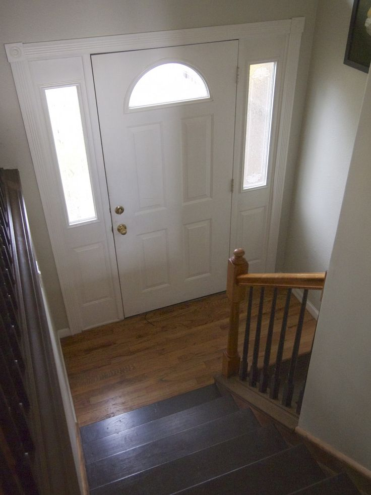 1000 images about the entry foyer on pinterest railings for Front door enters into kitchen