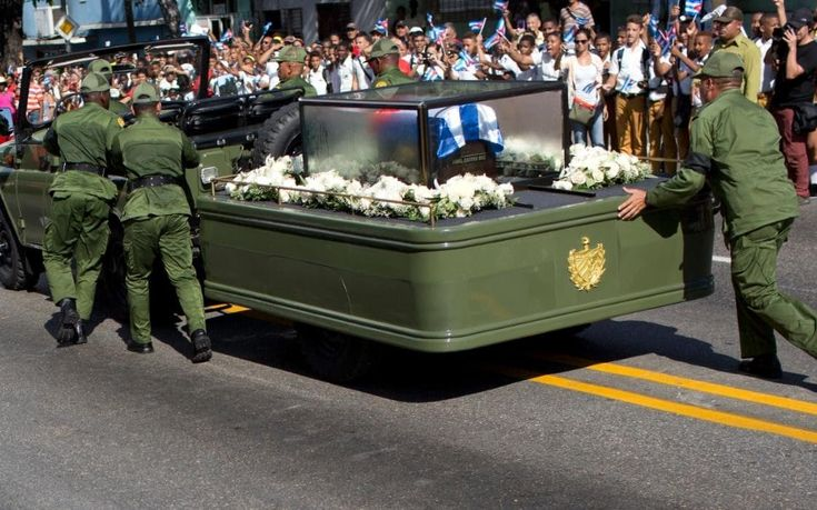 Fidel Castro was laid to rest on Sunday in the city of Santiago de Cuba, following a lengthy, cross-country procession that set out from Havana four days earlier.