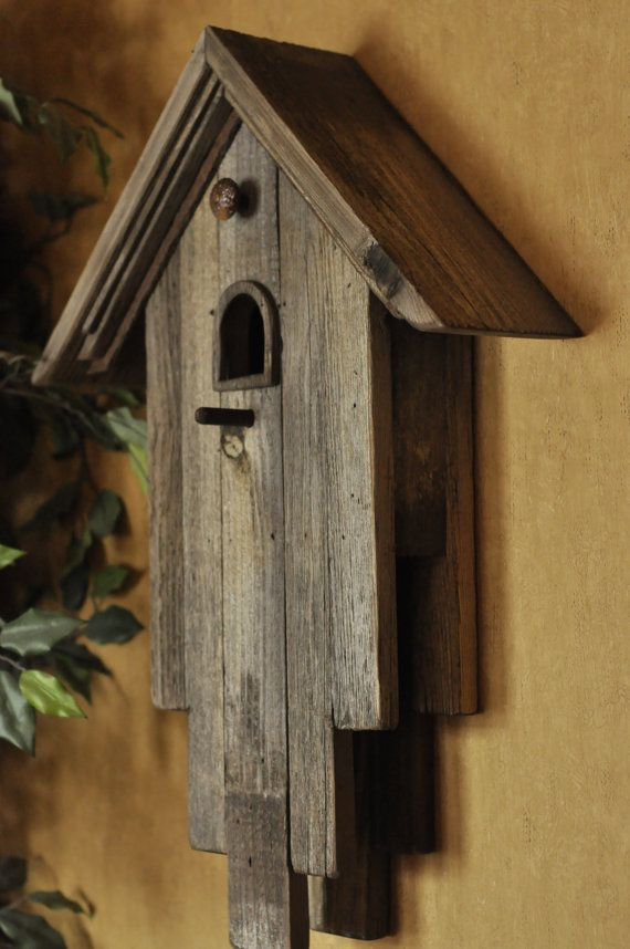 Hey, I found this really awesome Etsy listing at https://www.etsy.com/listing/277476236/weathered-wooden-bird-house