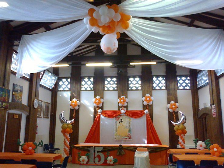 decorazione salone fiesta quinceañera