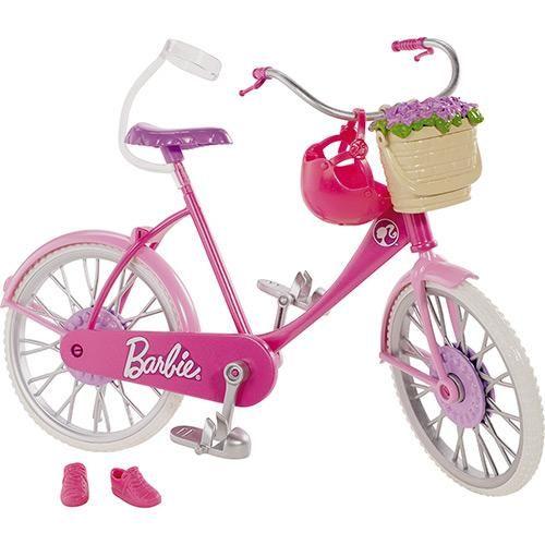 Barbie Real Bicicleta BDF34/BDF35 - Mattel - Americanas.com