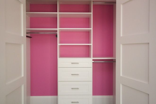 The minimum depth for a wall closet is 24 inches within the interior walls, not from the face of the doors. This gives clothing on hangers a...