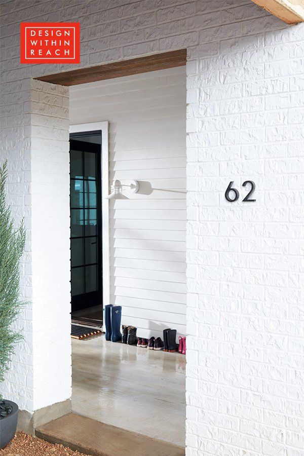 Neutra Modern House Numbers In 2020 Modern House Number Neutra
