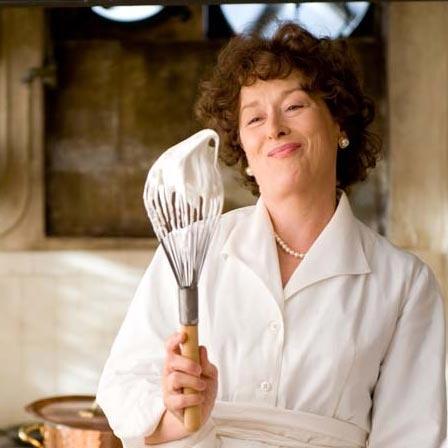 """Meryl Streep. """"Julie and Julia"""" movie."""
