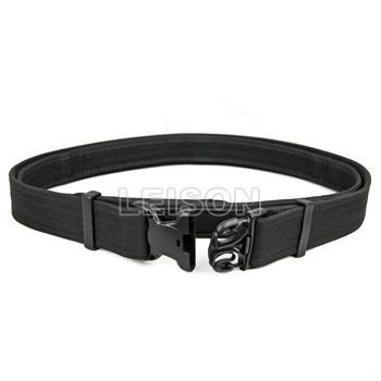 Police Duty Belt with Double Locking SGS and ISO Standard
