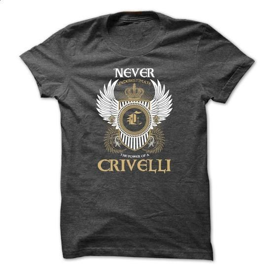 CRIVELLI Never Underestimate - design your own t-shirt #hoodies womens #sweatshirt design