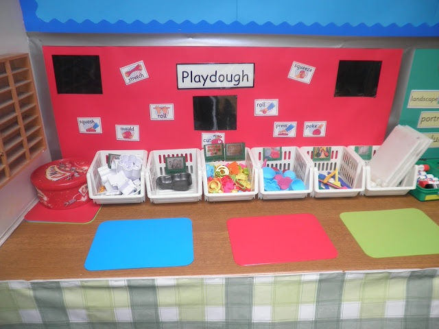 Playdough area