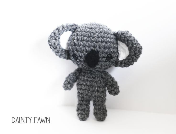 Free Amigurumi Koala Pattern : Best amigurumi bear images crocheted toys