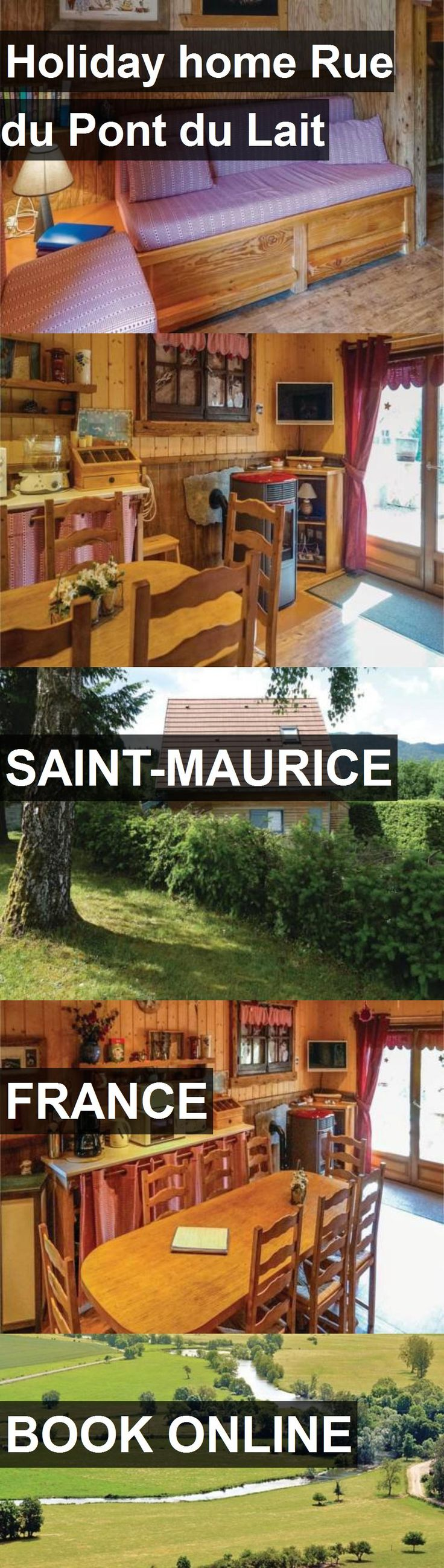 Hotel Holiday home Rue du Pont du Lait in Saint-Maurice, France. For more information, photos, reviews and best prices please follow the link. #France #Saint-Maurice #travel #vacation #hotel