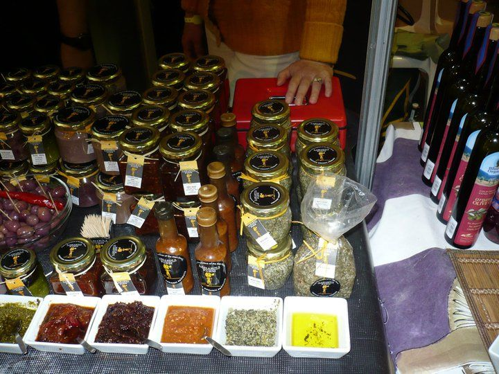 And more olives and sauces - all Organic!