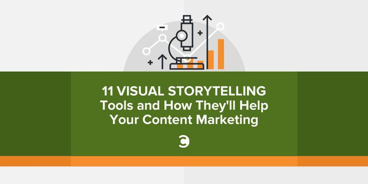 11 Visual Storytelling Tools and How Theyll Help Your Content Marketing - Storytelling and visuals are two of the most powerful tools content marketers have. Both of these attributes can help get ideas across more effectively and increase engagement. Combining these two elementswell thats a recipe for success.