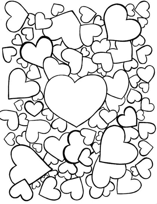 valentine coloring pages french - photo#13