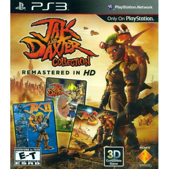 Jak And Daxter Collection Jogos Ps3 Jogos De Infancia Jogos