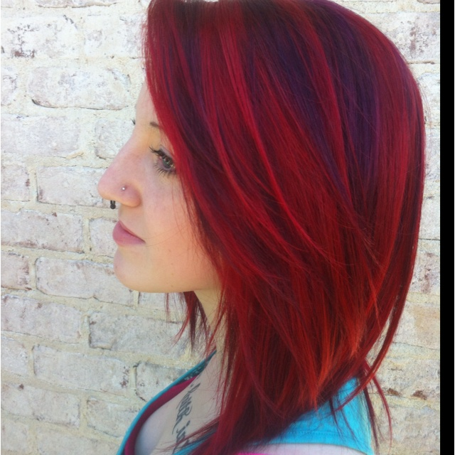 Vibrant awesome Hair