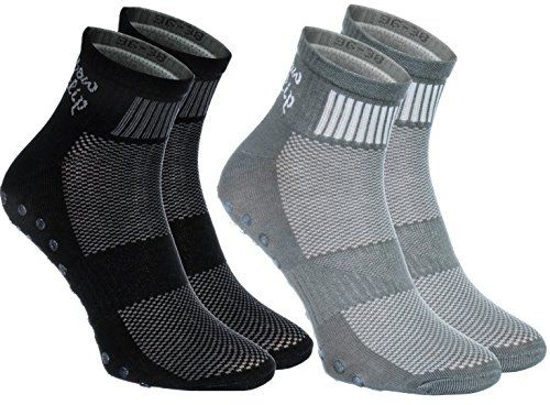 2,4,or 6 pairs of Colorful Non-slip Socks ABS Gymnastics Trampolines all sizes
