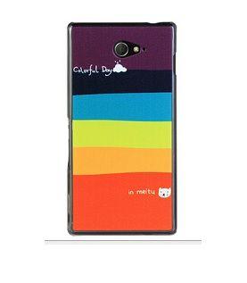 Πλαστική Θήκη Rainbow Plastic Case OEM (Xperia M2 S50h) - myThiki.gr - Θήκες Κινητών-Αξεσουάρ για Smartphones και Tablets - Rainbow