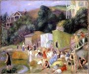 Beach at Annisquam  by William Glackens