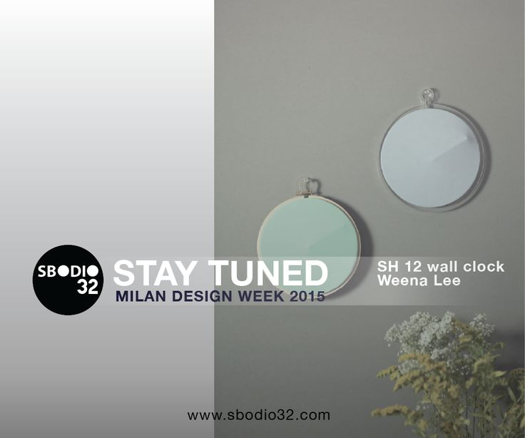 Playing with the relation of an object and it 's shadow of showing and hiding. Representing the subconscious of time, shows hours only by the shade/shadow.  SH 12 wall clock | Weena Lee  Sbodio32 - Fuori Salone at Ventura Design District #SBODIO32Contributors