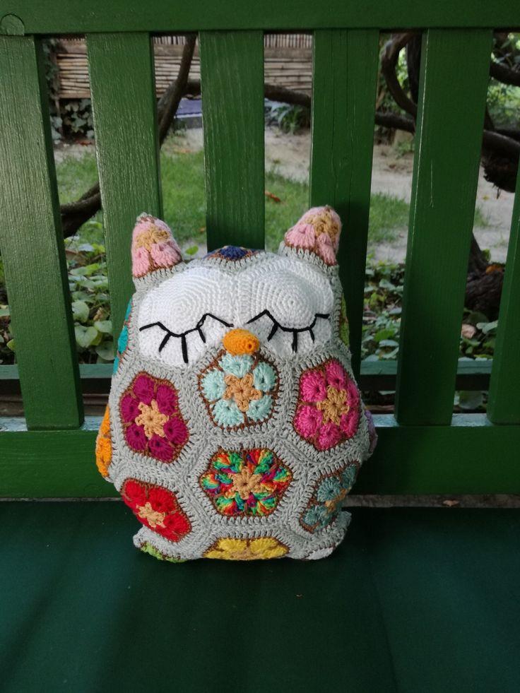 Owl pillow / Bagolypárna