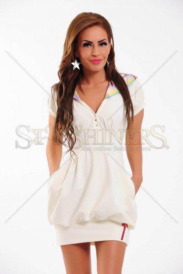 Rochie MissQ Sport Hour White