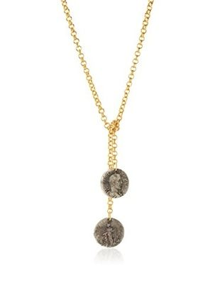 61% OFF Linda Levinson Wrap Chain Coin Necklace