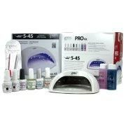 Gelish Harmony Salon Grade Professional Gel LED Soak Off Nail Polish Package Kit