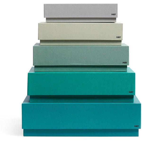 Hay - neues dänisches Design Hay - Box Box Desktop found on Polyvore
