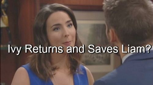 """""""The Bold and The Beautiful"""" (B&B) spoilers hint that Quinn Fuller (Rena Sofer) will be able to keep Liam Spencer (Scott Clifton) from the truth..."""