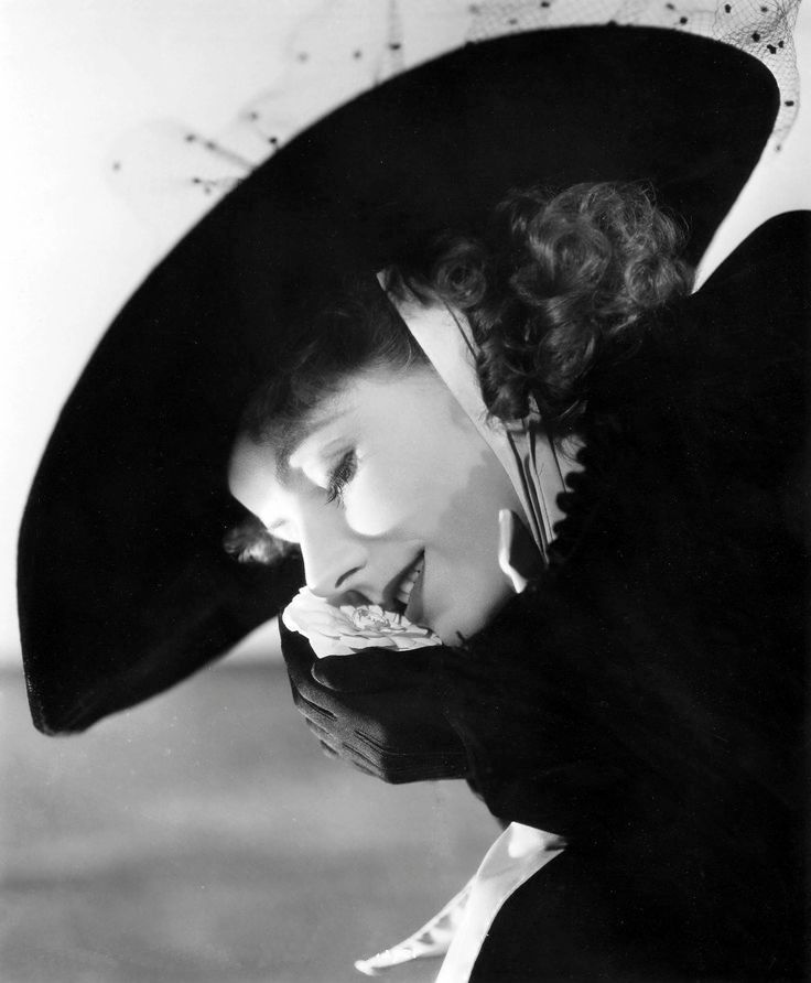 "Greta Garbo as Marguerite Gautier in ""Camille"", 1936."