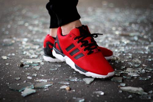 http://SneakersCartel.com Adidas ZX Flux 'Poppy Red' - 2014 #sneakers #shoes #kicks #jordan #lebron #nba #nike #adidas #reebok #airjordan #sneakerhead #fashion #sneakerscartel
