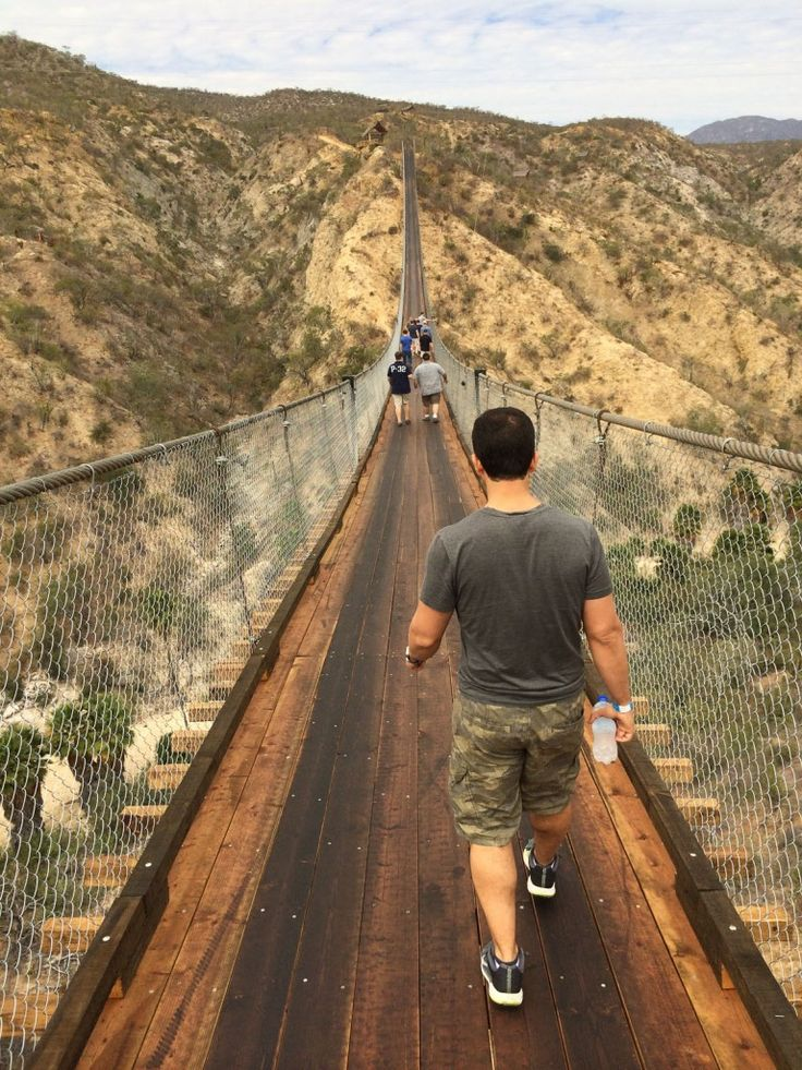 Los Cabos Canyon Bridge - Wild Canyon | Best Tours and Activities in Los Cabos