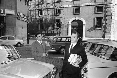 Pietro Ingrao in una foto del 1968 © ANSA/OLDPIX