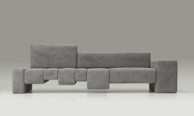 The Fifth Avenue sofa - Design: Dima Loginoff - Photo shooting: Davide Buscioni for Protocol #dimaloginoff #design