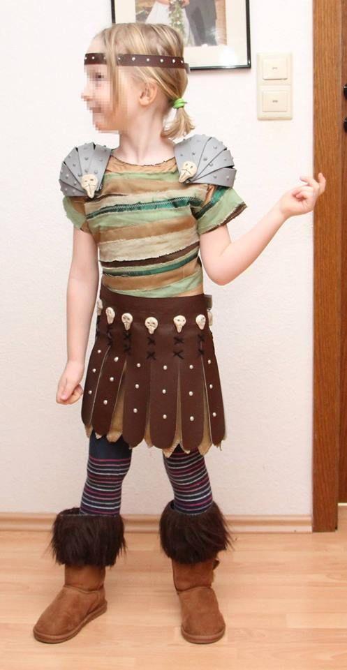 """Als Astrid aus """"Drachen zähmen leicht gemacht"""" auf die nächste Karnevalsveranstaltung? #wettbewerb"""